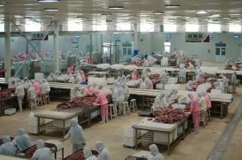 牛肉加工切割程序